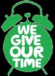 Logo depicting volunteering with Macmillan