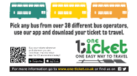 An image relating to One Ticket and Bus Tracker Information