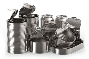 tins and cans