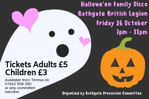 Bathgate Procession Hallowe'en Disco
