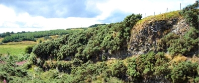 21 Wairdlaw Quarry south of Beecraigs Country Park Bathgate Hills