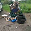 An image relating to Here's the latest fly tipping mess that our teams have been out to remove.
