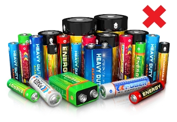 Batteries with Cross