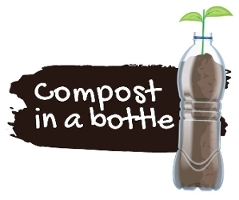 Compost in bottle image
