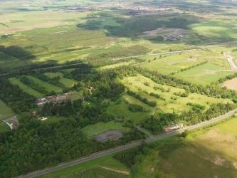 Polkemmet aerial view