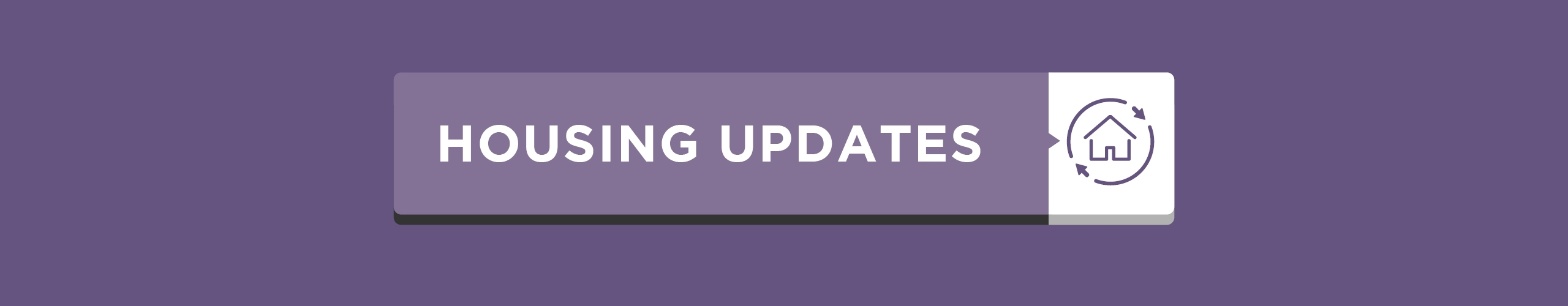 Housing Updates Covid Banner