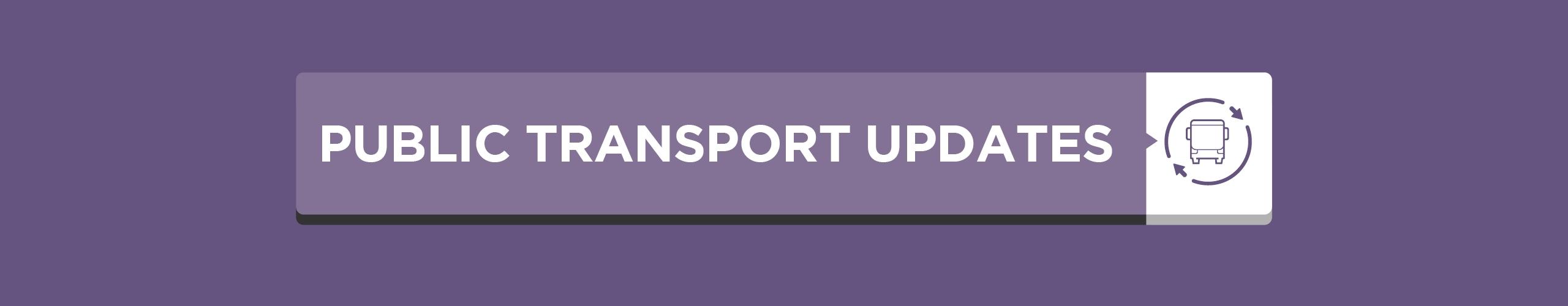 Public Transport Covid Updates