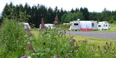 Caravan and Camping Banner