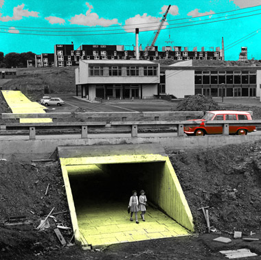 Livingston New Town Exhibition - Craigshill underpass