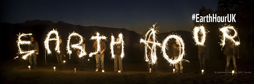 Earth Hour - Sparklers