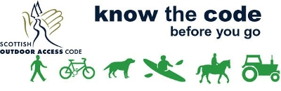 Scottish Outdoor Access Code banner