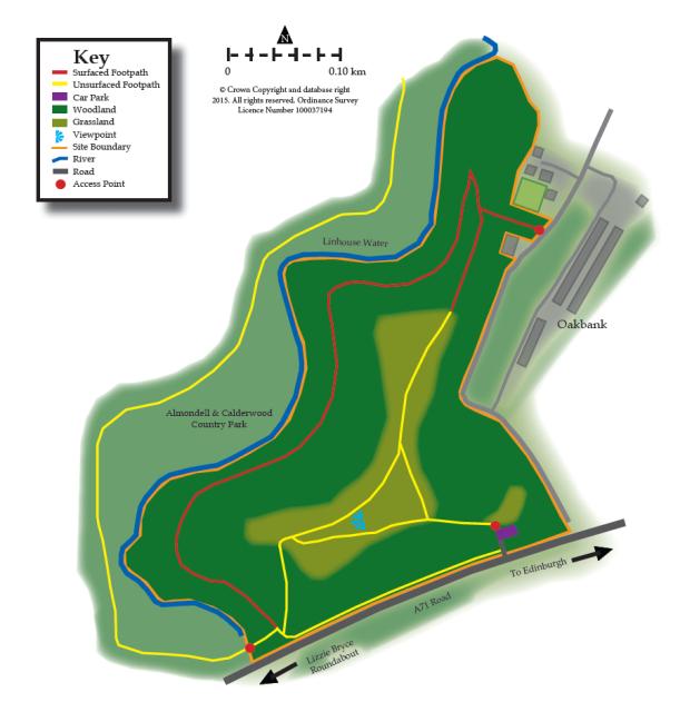 Oakbank Bing map