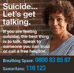 Lets talk about suicide