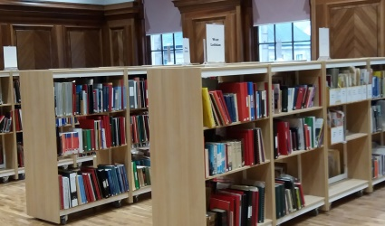 Local History Library interior