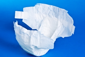 Nappies and sanitary products
