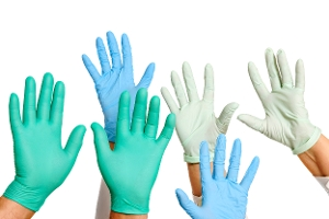 Disposable gloves