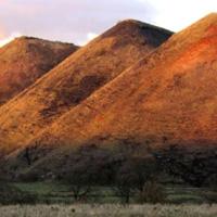 5 Five Sisters Shale Bings near West Calder