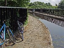 Bikes at canal