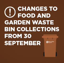 Brown and Food Waste collection changes