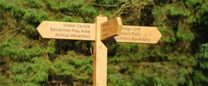 Beecraigs Parking and Maps Page Header