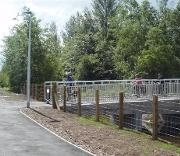 New cycle path improvement