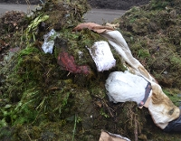 Brown bin - bagged waste and textiles