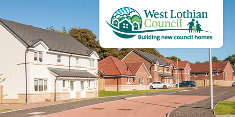 New Build Council Housing Image
